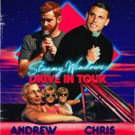 Andrew Santino and Chris Distefano announce the Steamy Windows drive in tour