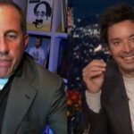 Jerry Seinfeld and Jimmy Fallon judge fans telling Seinfeld's best jokes