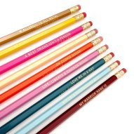 Mindy Project Quote Pencils - Etsy, $19.95