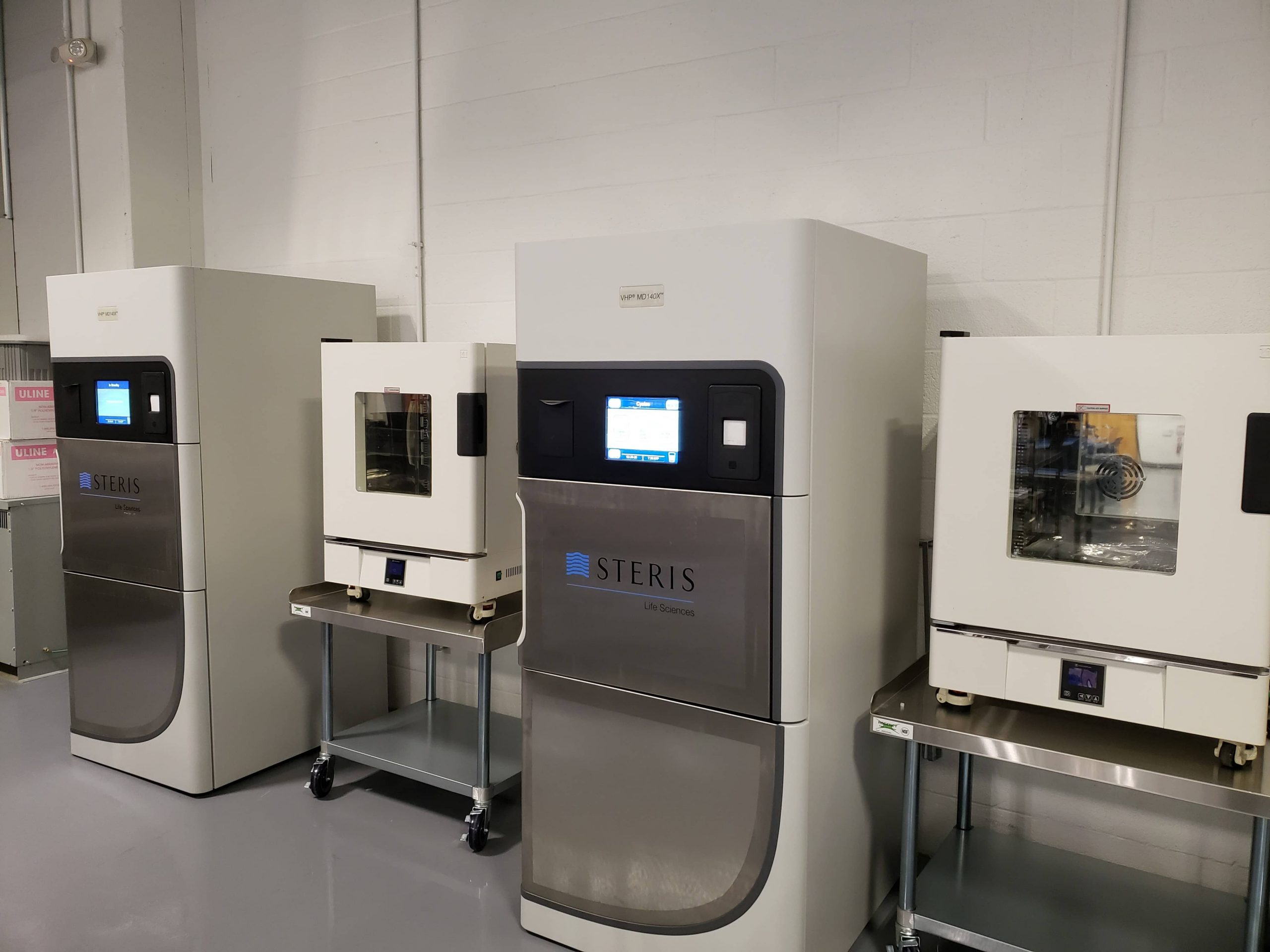 steris clean room devices