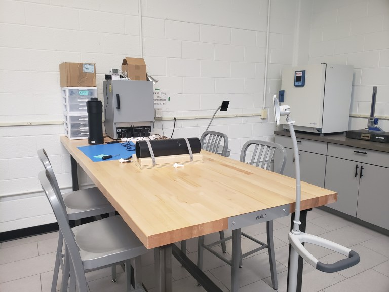 the launchport manufacturing room