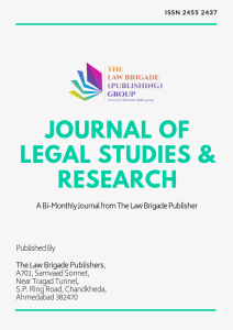 Journal of Legal Studies and Research