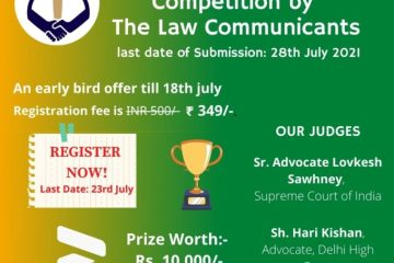 2nd Judgment Writing Competition by The Law Communicants