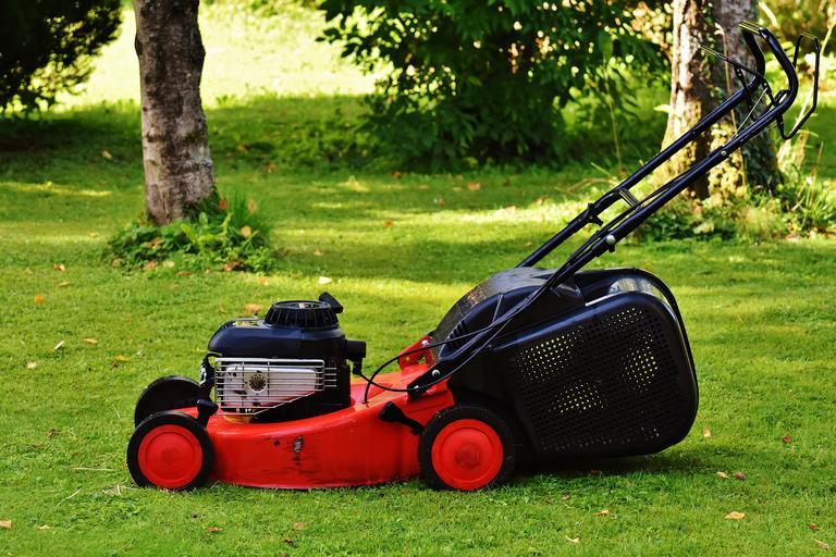 Lawn Mower - Mowing