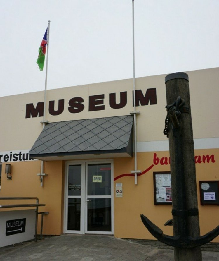 The Swakopmund Museum Entrance