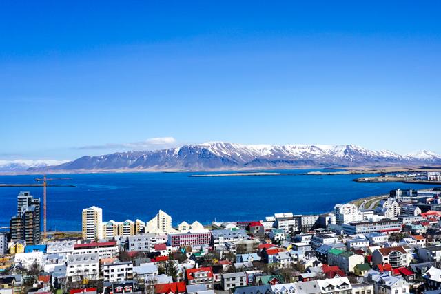 View of Reykjavik from Hallgrímskirkja