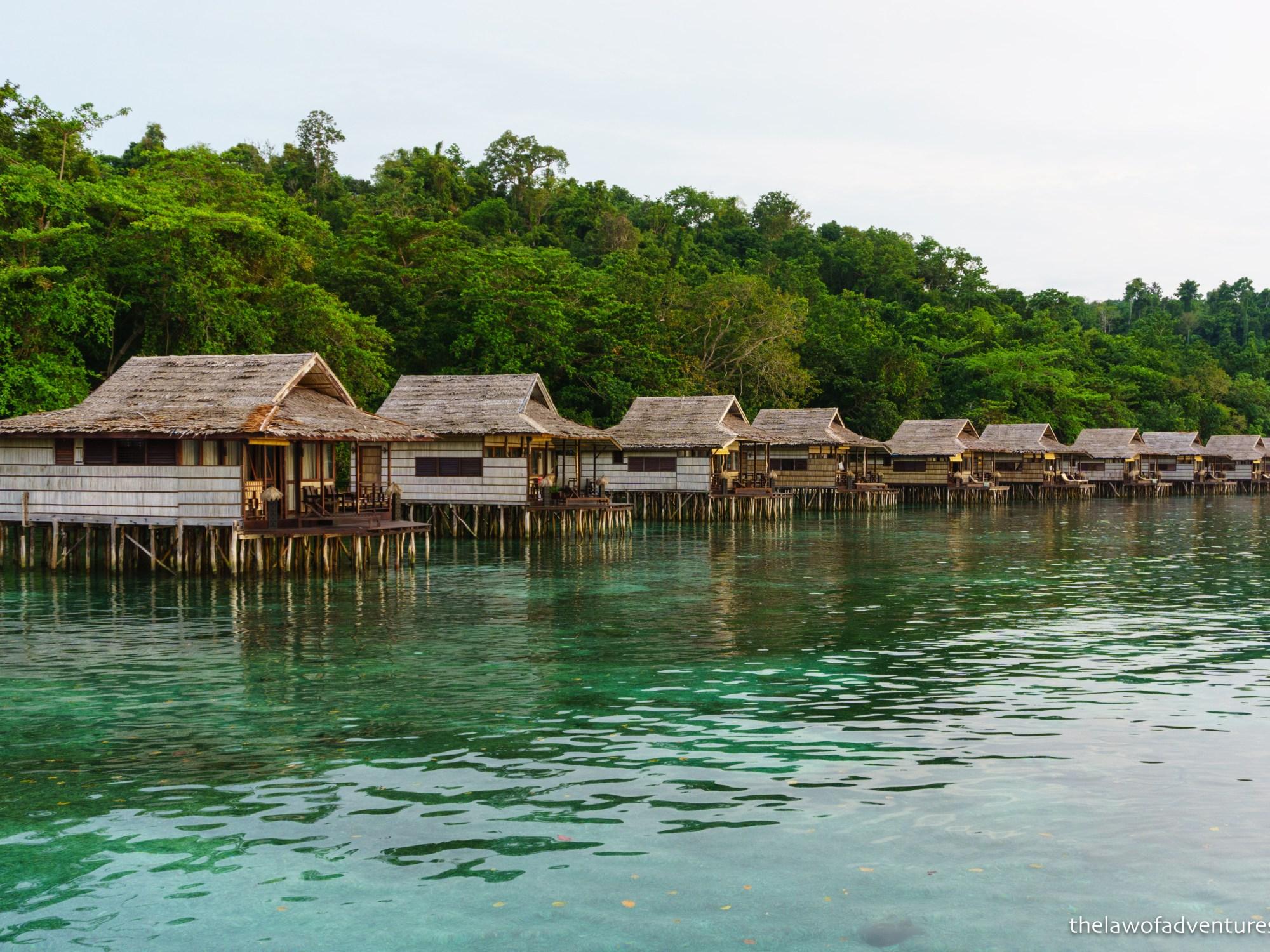 Papua Paradise Eco Resort, Raja Ampat, West Papua, Indonesia.