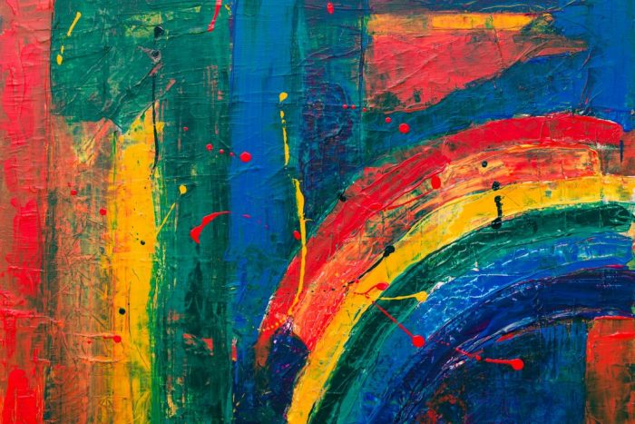 God communicates through colors