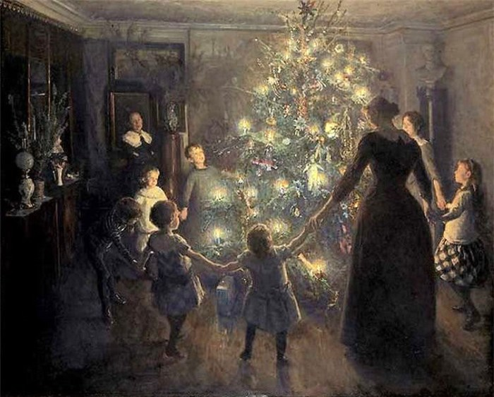 A Family Blessing for a Christmas Tree