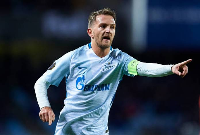 Domenico Criscito Playing for Zenit - Getty Images