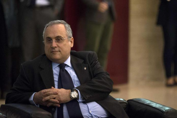 Claudio Lotito, Source- CalcioWeb