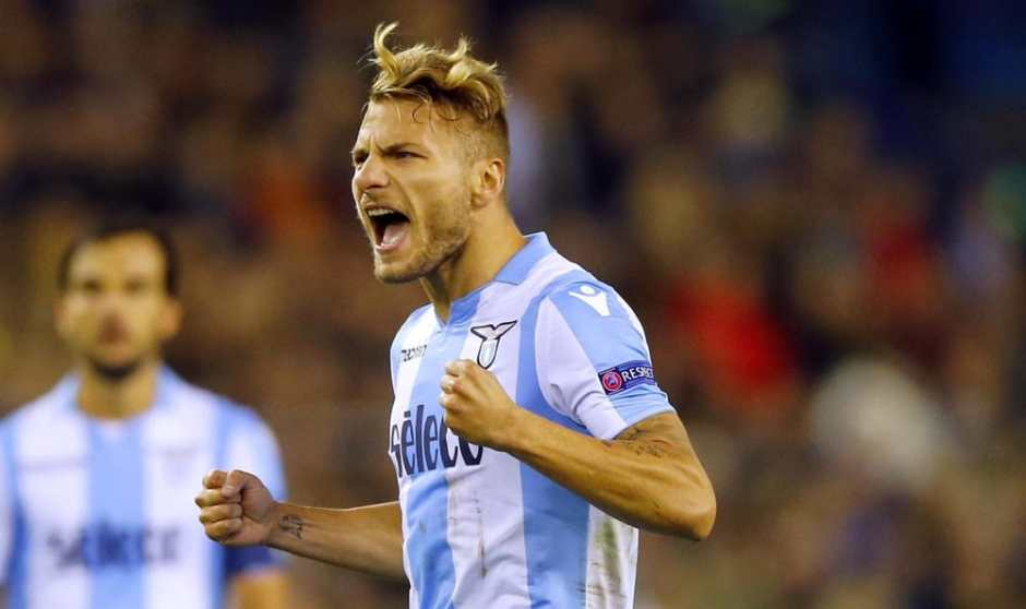 Ciro Immobile Lazio Champions League