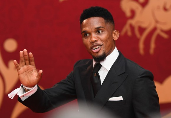 Report: Samuel Eto'o meets with Lazio, but as an agent