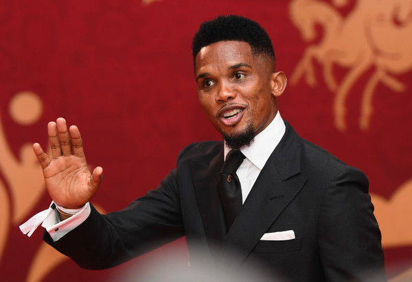 Samuel Eto'o, Source- Zimbio