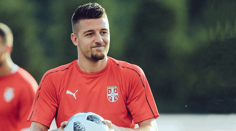 Sergej Milinkovic-Savic playing for Serbia, Source: Getty Images