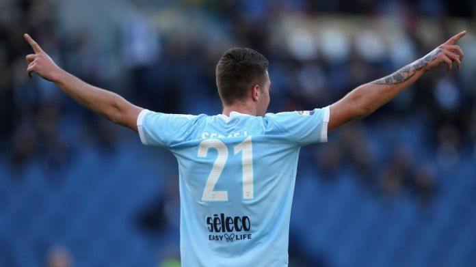 Will Jorge Mendes help Lazio to sell Sergej this summer? Source: Eurosport