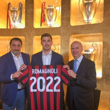 Official: Milan extend Romagnoli's contract to 2022