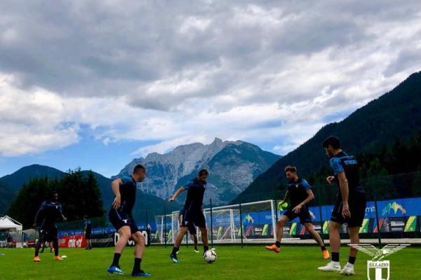 Lazio Training, Source- Official S.S. Lazio