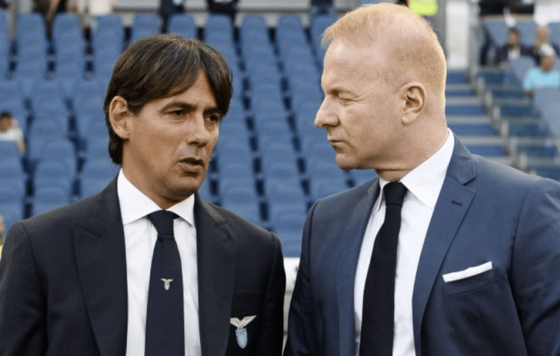 Simone Inzaghi and Igli Tare, Source- GDM
