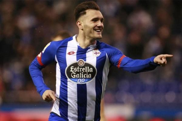 Lucas Perez at Deportivo - Source - ArsenalCore