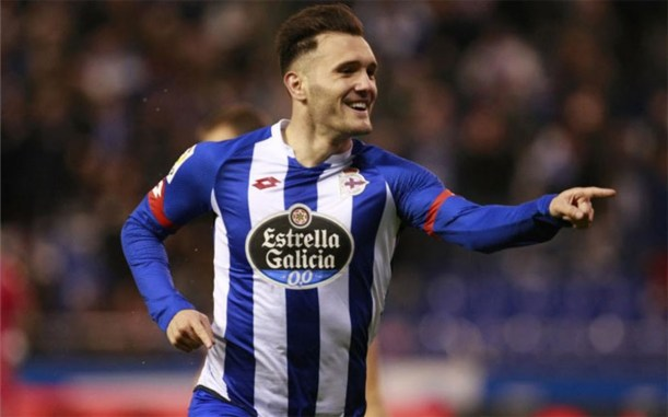 Lucas Perez at Deportivo - Source - ArsenalCore