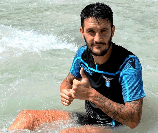 Luis Alberto, Source- S.S.Lazio Instagram