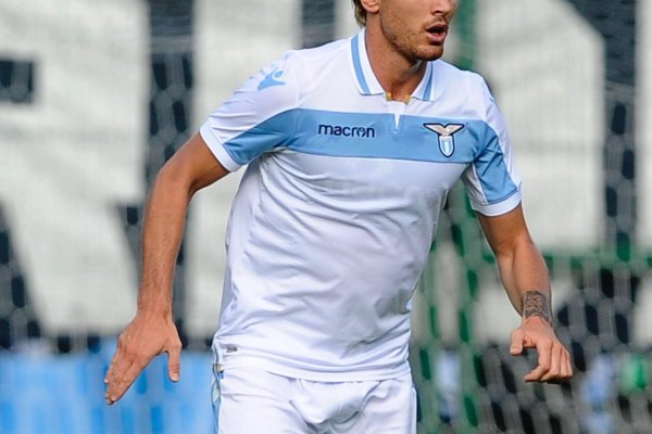 Patric in Lazio's away kit - Source: SS Lazio
