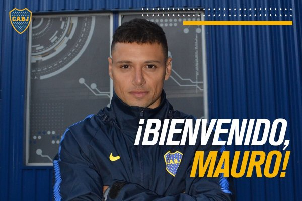 Mauro Zarate - Source - Boca Juniors