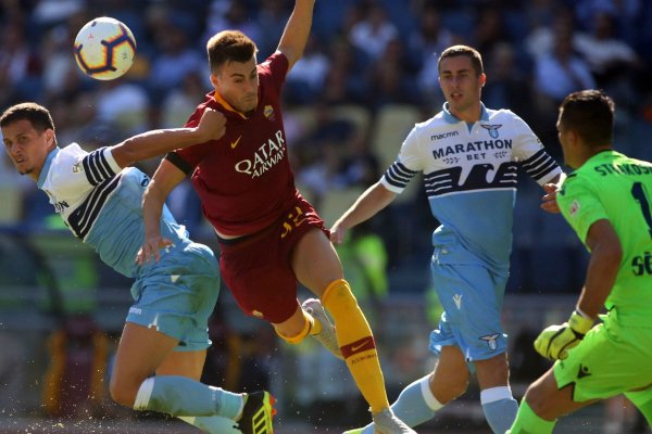 Roma vs Lazio - Source - Twitter
