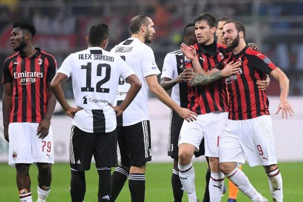 Milan vs Juventus, Source- Getty Images