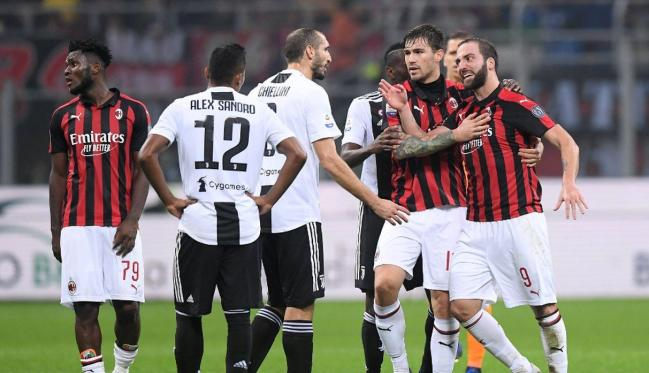 Milan vs Juventus, Source- Getty Images