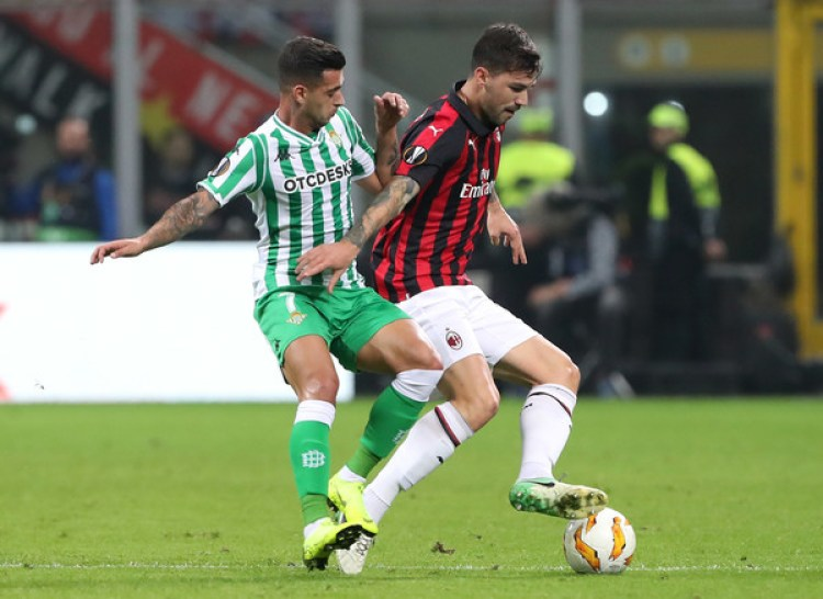 Real Betis vs Milan, Source- Zimbio