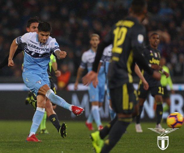 Joaquin Correa in Lazio vs Juventus - Source: SS Lazio