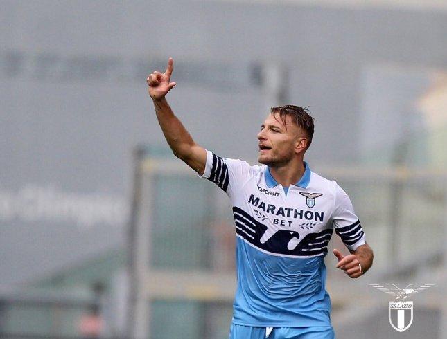 Lazio vs Novara - Ciro Immobile