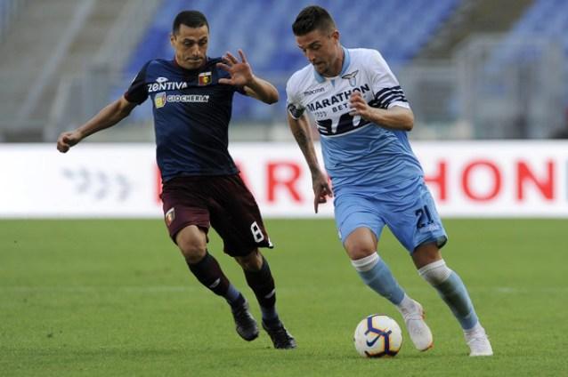 Romulo of Genoa - Genoa vs Lazio, Source- Zimbio
