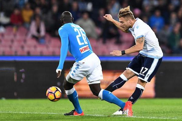 Immobile in Napoli vs Lazio, Source - ilpost.it