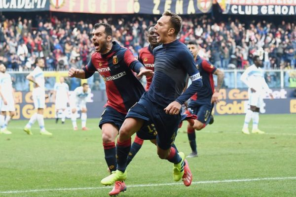 Criscito scores in Genoa vs Lazio - Source - Sky