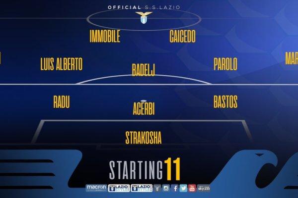 Frosinone vs Lazio, Source- Official S.S.Lazio