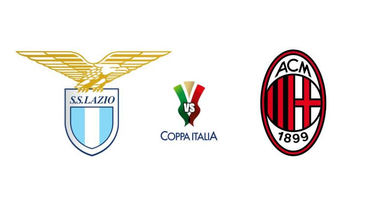 Lazio vs Milan - Coppa Italia First Leg