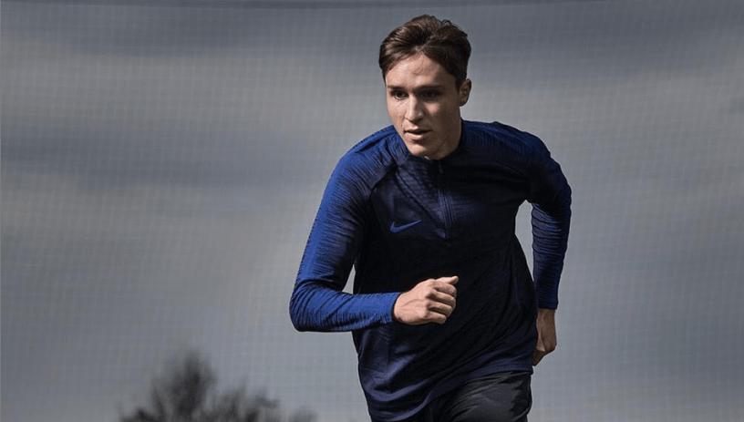 Federico Chiesa, Source- Nike.com