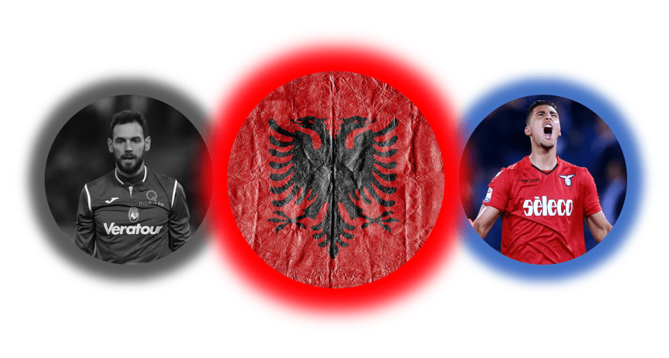 Albania, Designed by @S_K_MOORE