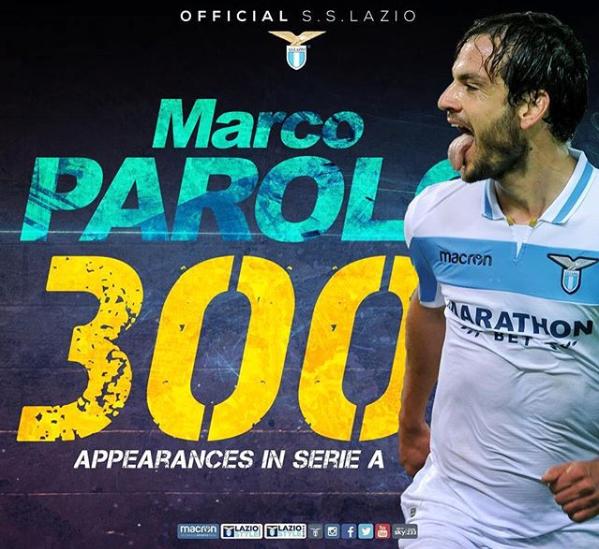 Marco Parolo, source: Lazio official Instagram