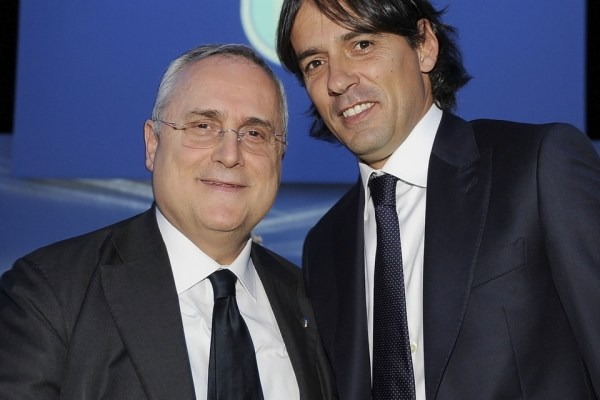 Claudio Lotito and Simone Inzaghi, Source- leggo.it