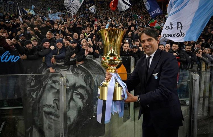 Simone Inzaghi, Source: Official S.S.Lazio
