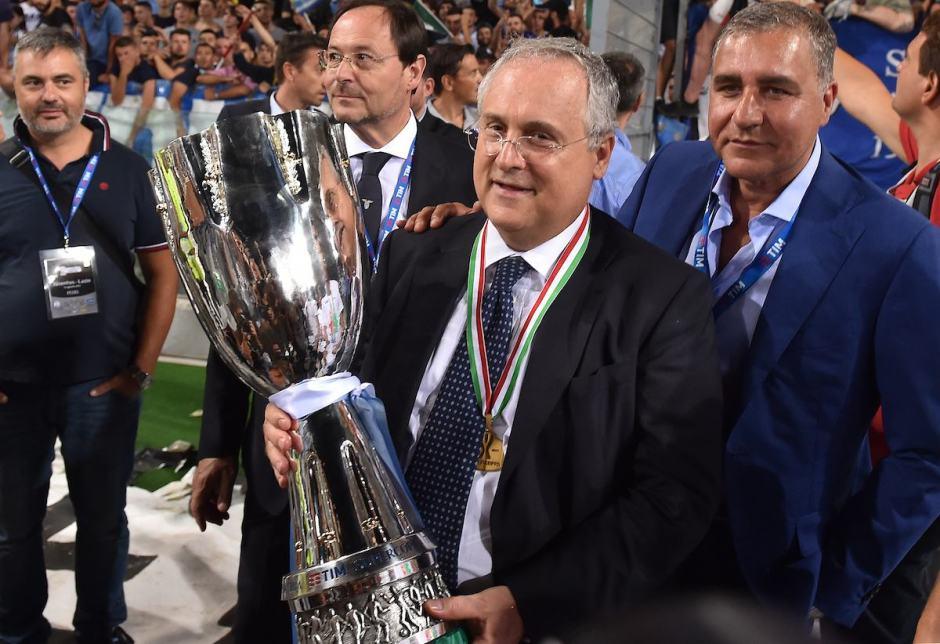 Claudio Lotito, source: Calcioefinanza