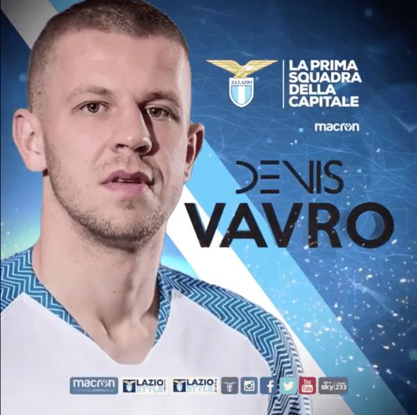 Denis Vavro, Source- Official S.S.Lazio