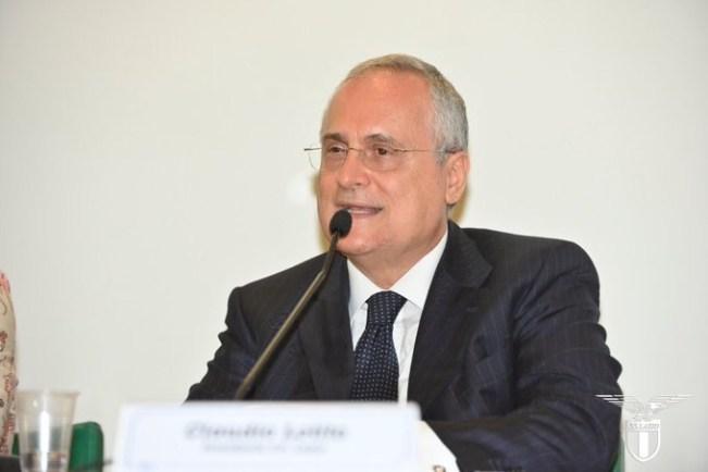 Claudio Lotito, Source- Official S.S.Lazio