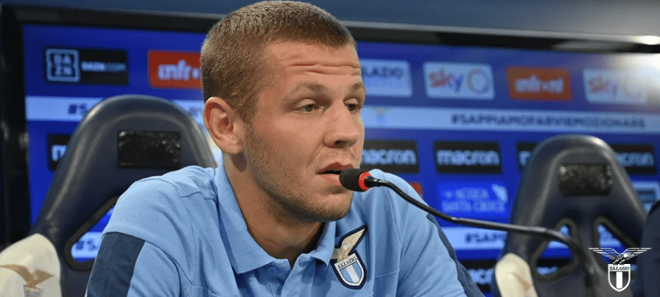 Denis Vavro, source: SS Lazio