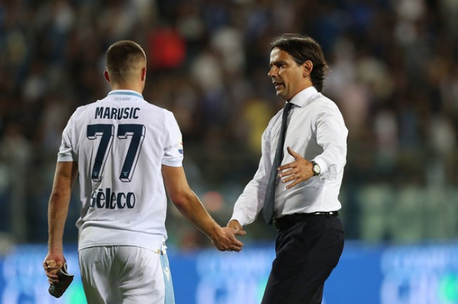 Simone Inzaghi and Adam Marusic, Source- Zimbio