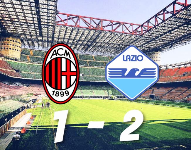 Milan vs Lazio, Source- @MattyLewis11